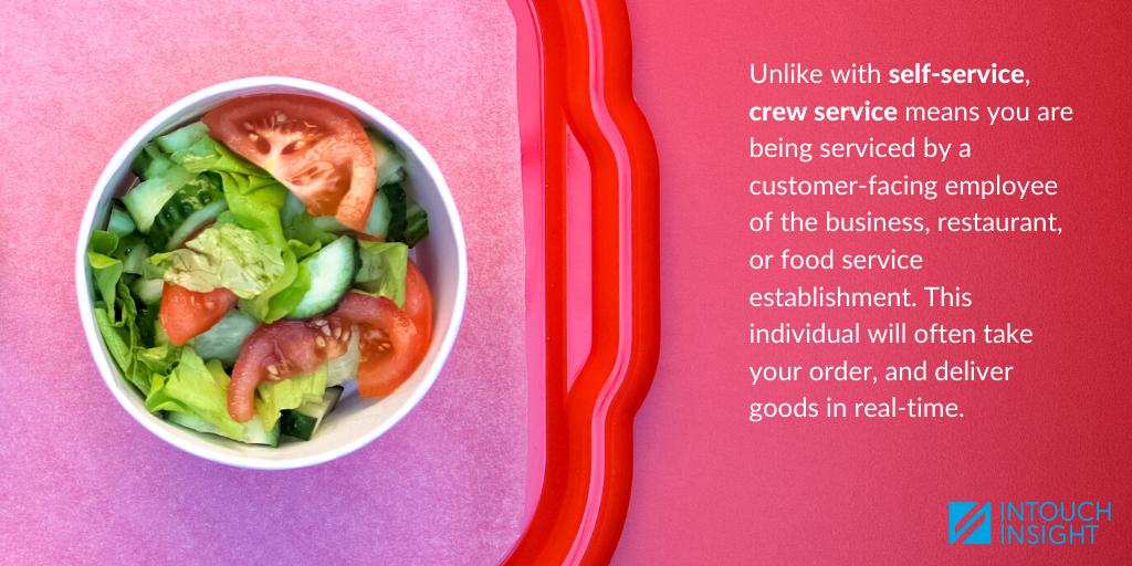 self service vs crew service