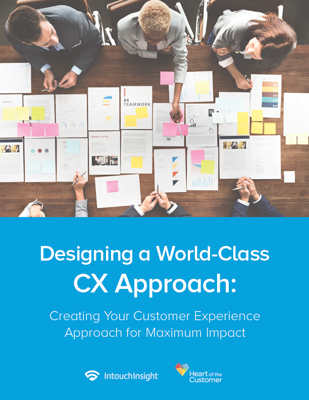 Designing a World-Class CX Approach: Creating Your Customer Experience Approach for Maximum Impact