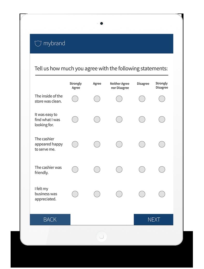 Improve customer experience with surveys