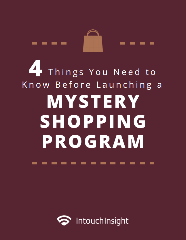 Launching a Mystery Shopping Program