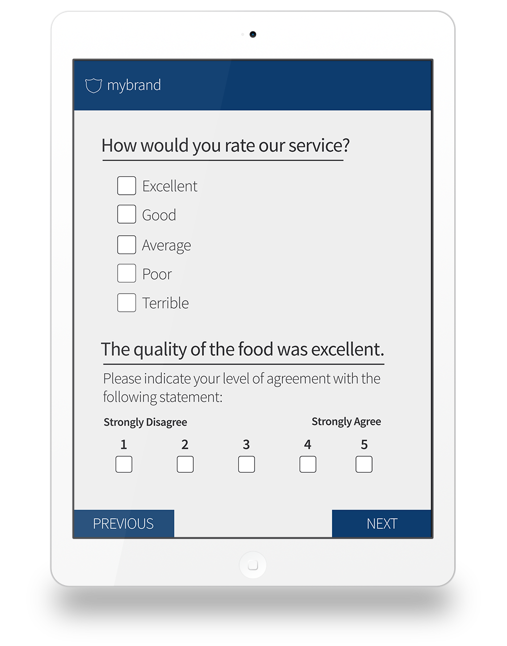 Smart dynamic customer satisfaction surveys for the easiest user experience
